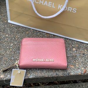 Michael Kors Zip Card Holder EUC